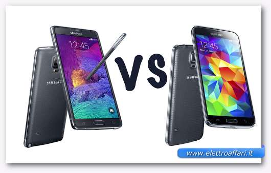 Samsung Galaxy Note 4 vs Galaxy S5