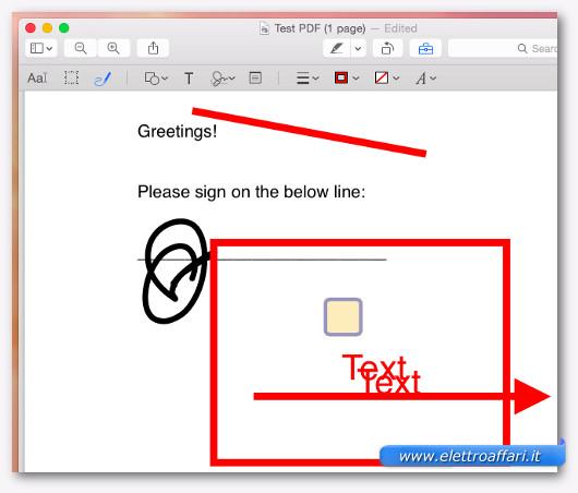 modificare il pdf