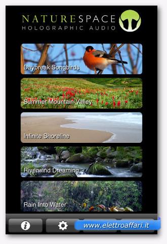 naturespace per iphone