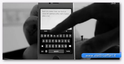 facilità di scrittura dell'iphone 6