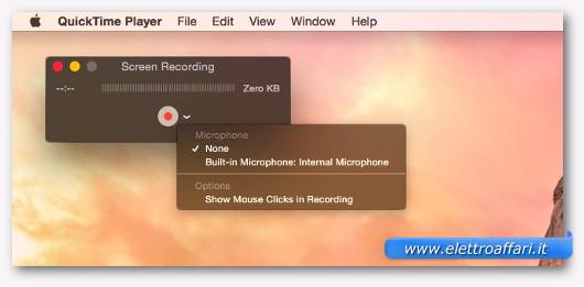 registrare audio e video