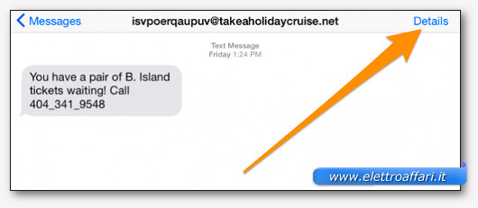 bloccare sms e telefonate su iPhone