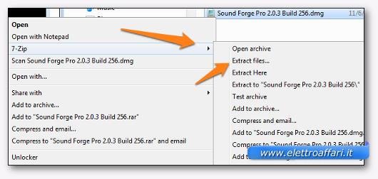Come Aprire File DMG su Windows
