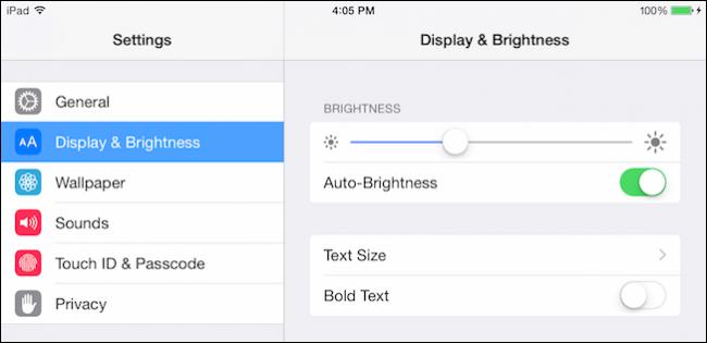 ingrandire i caratteri su iphone e ipad