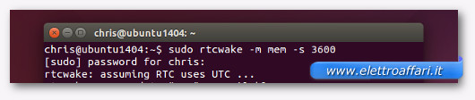 accensione e spegnimento su linux
