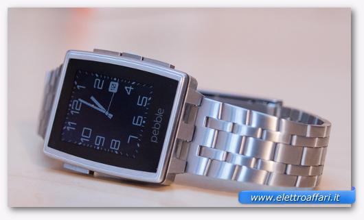 Smartwatch Pebble Steel