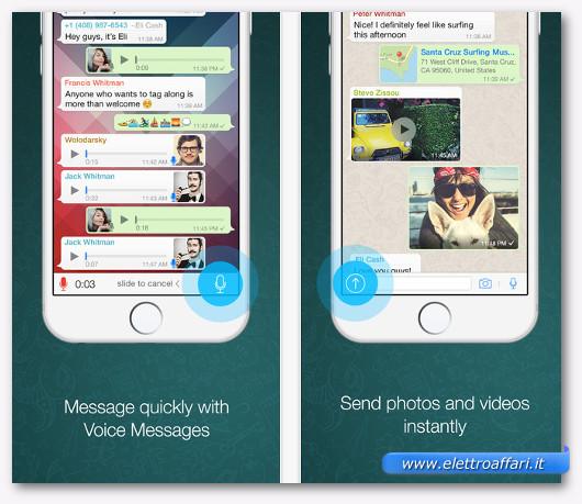 wathsapp per iphone