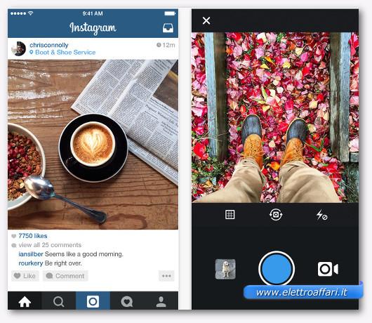 instagram per iphone