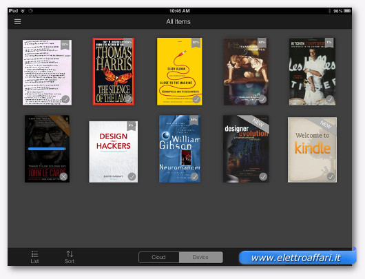 kindle per ipad
