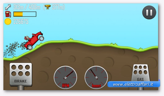 Hill Climb Racing per windoww 8.1