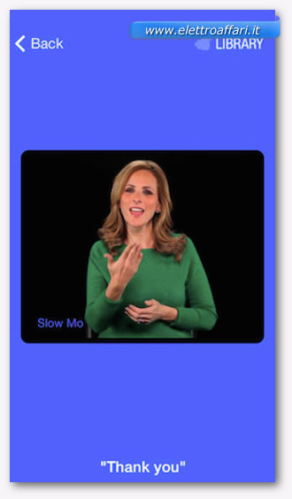 imparare il linguaggio dei segni