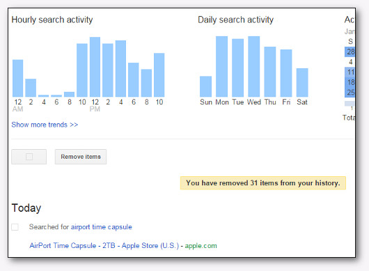 schermata account google