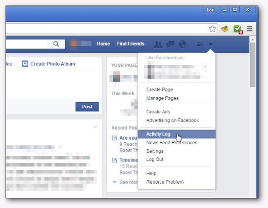 come cancellare la cronologia di facebook