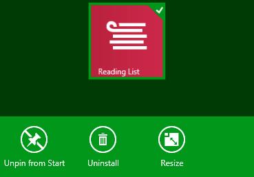 disinstallare applicazioni in windows 8