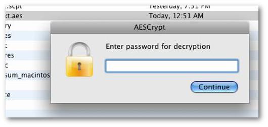 criptare con chiave AES