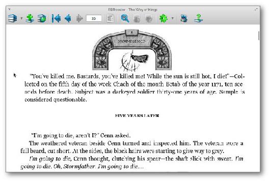 fdr reader ebook per linux