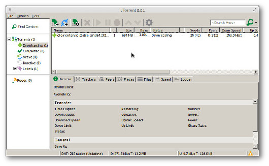migliri client torrent linux