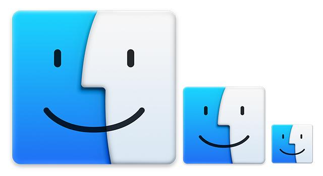 dimensione delle icone