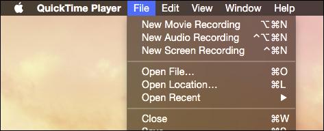registrare lo schermo del mac
