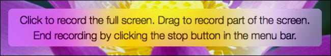 drag e drop per la registrazione dello schermo