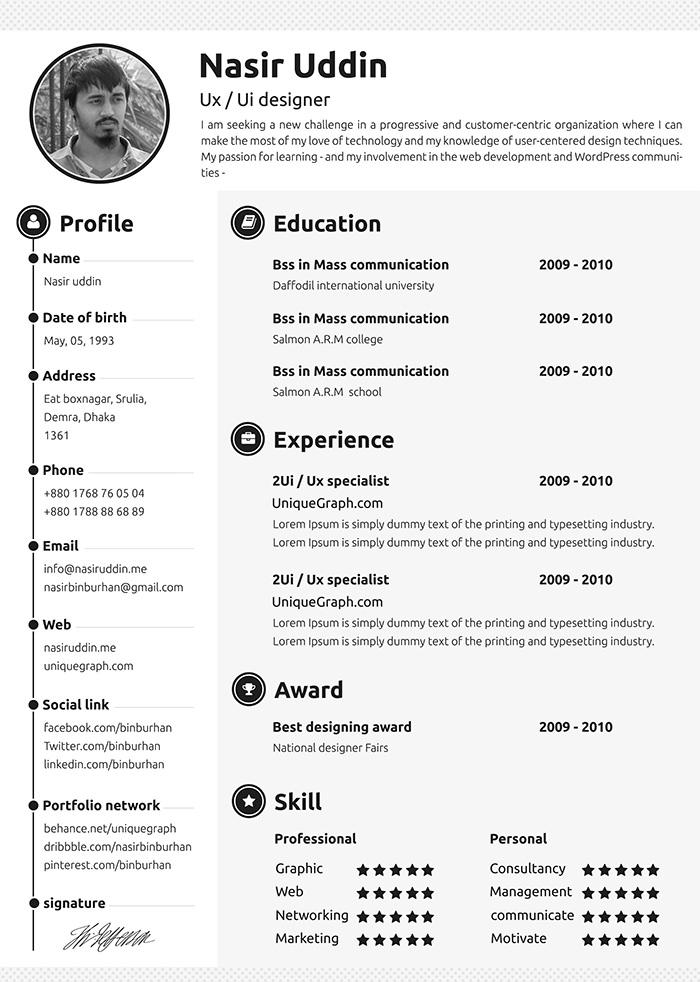 30 originalissimi modelli di curriculum vitae da scaricare