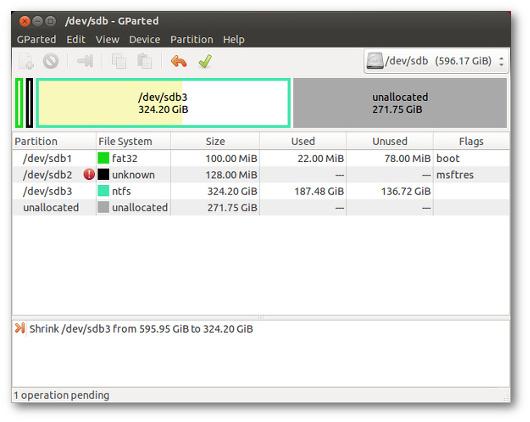 installare ubuntu in dual boot