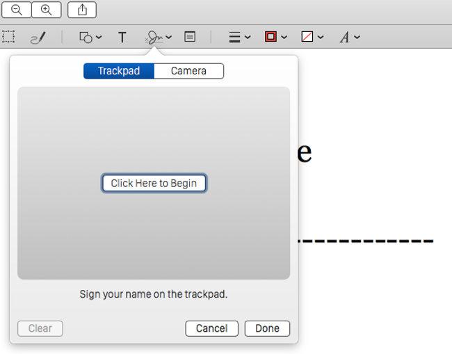 firmare i pdf su mac