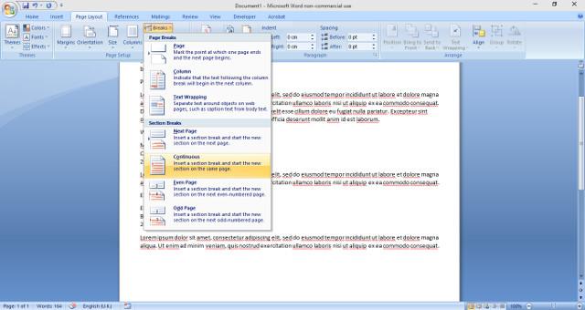 Informazioni di base del curriculum