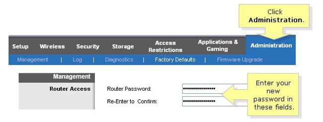 configurare il router