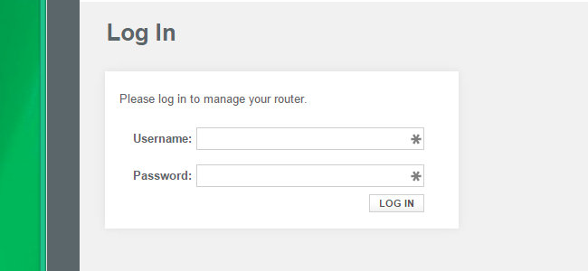 trovare la password sul router