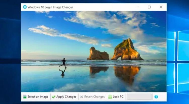 cambiare schermata di login di windows 10