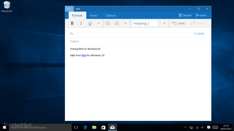 app posta per windows 10