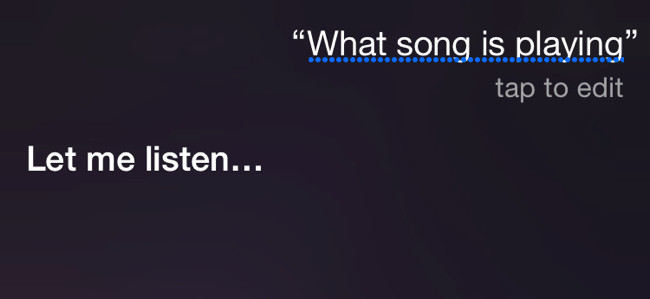 Riconoscere una   canzone da smartphone