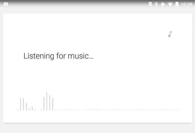 riconoscere una canzone con android