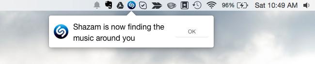 riconoscere una canzone su mac