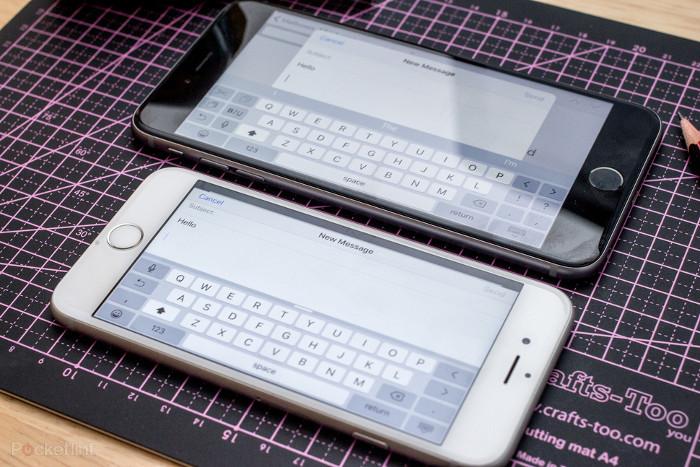 Confronto tra iPhone 6S e iPhone 6S Plus