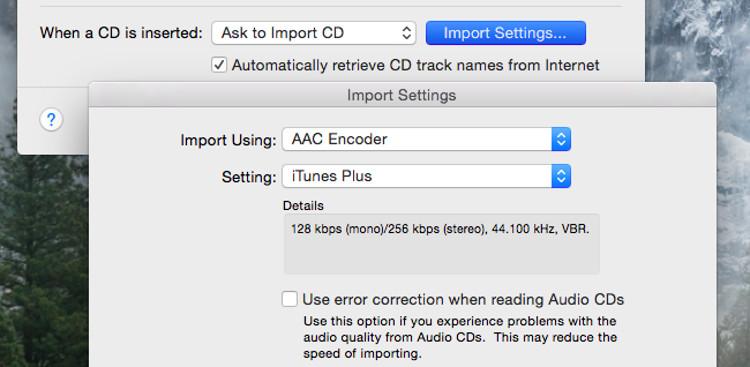 Rip Audio CDs