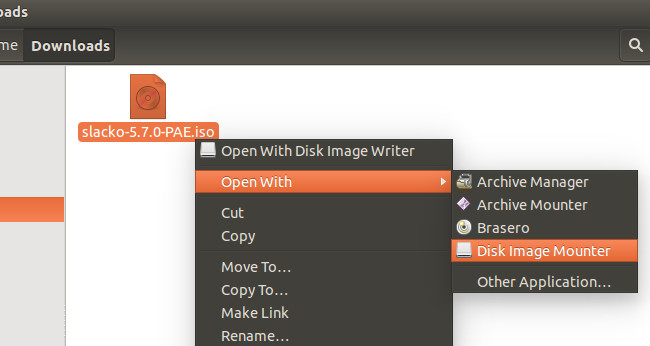 Montare file ISO su Linux