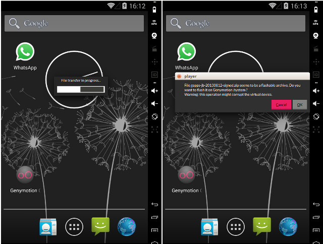 installazione di Google Play in Genymotion