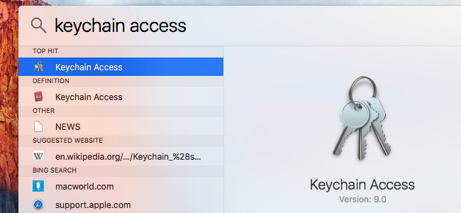 trovare la password wifi su mac