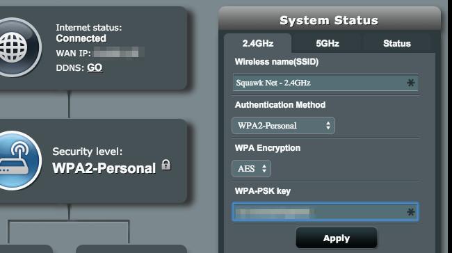 Trova la Password nell'interfaccia web del Router