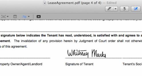 come usare le firma nei pdf