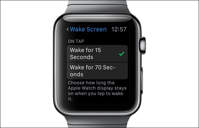 ridurre il tempo di accensione dello schermo