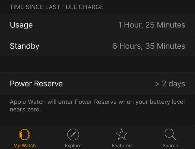 prestazione della batteria
