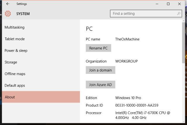 Come Cambiare il Nome del tuo PC Windows 10