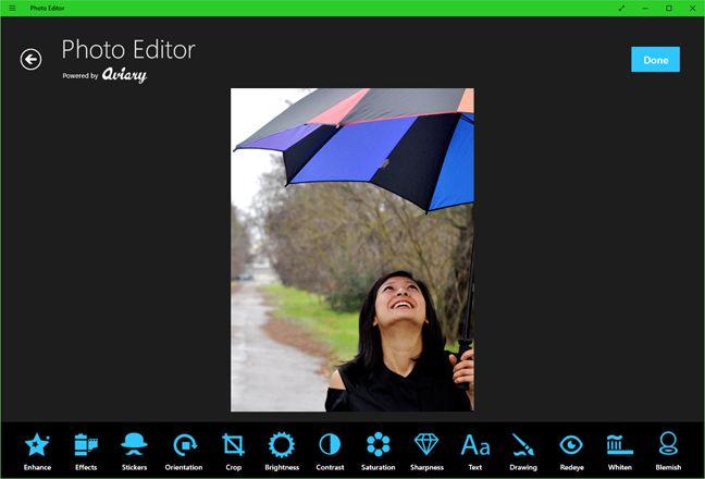 photo editor per windows 10