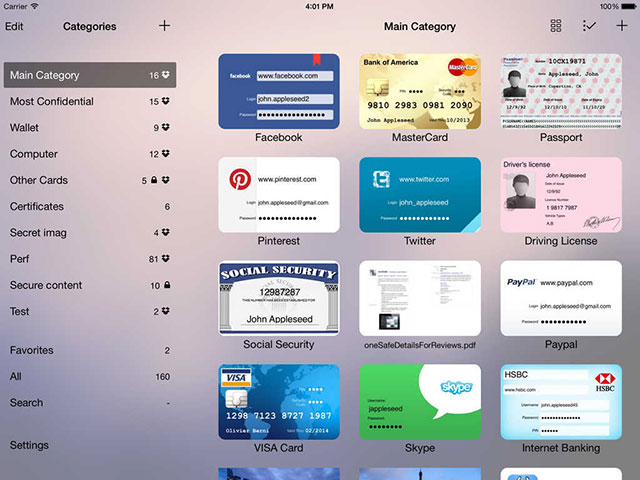 onesafe per la gestione delle password