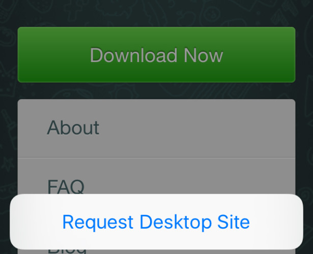 Come Usare WhatsApp Web su iPad o iPod