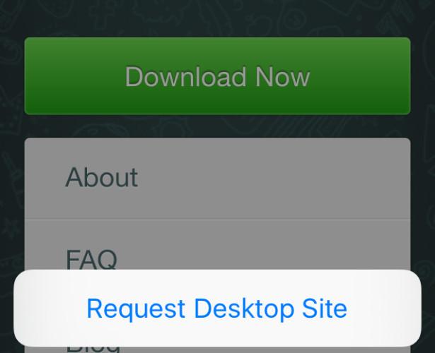 Come Usare WhatsApp Web su iPad o iPod