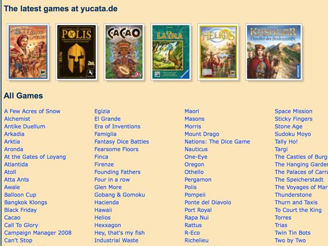 Yucata gioco online